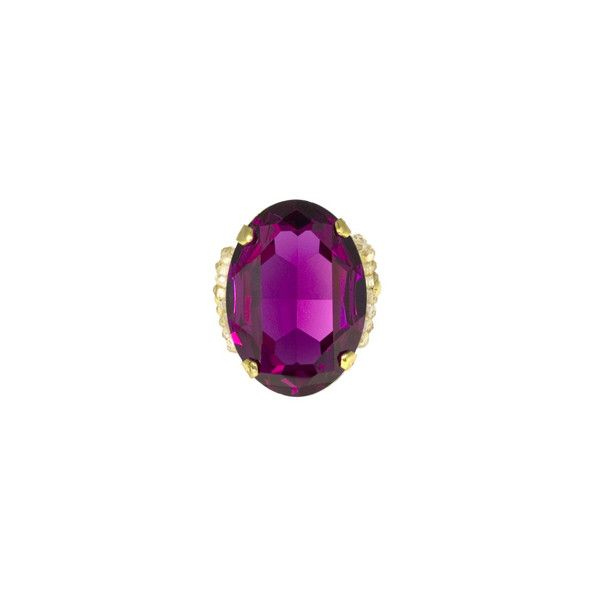 : :T A R I N AT A R A N T I N O: : ($100) ❤ liked on Polyvore featuring jewelry, rings, purple, tarina tarantino, purple jewelry, tarina tarantino jewelry, purple rings and tarina tarantino ring
