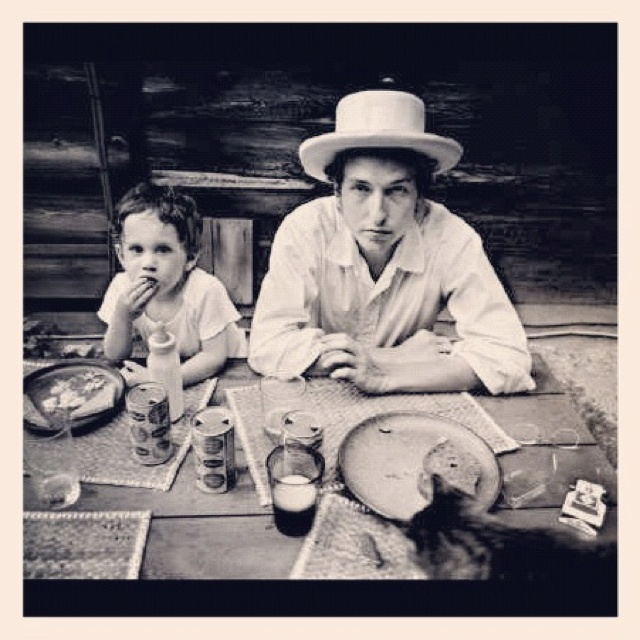 Bob Dylan and Jakob Dylan