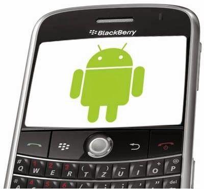 Teknologi Informasi Selular: Kini BlackBerry Mampu Mengelola Applikasi Android
