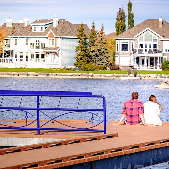 #TBT to summer days sitting out on the #LakeSummerside docks.