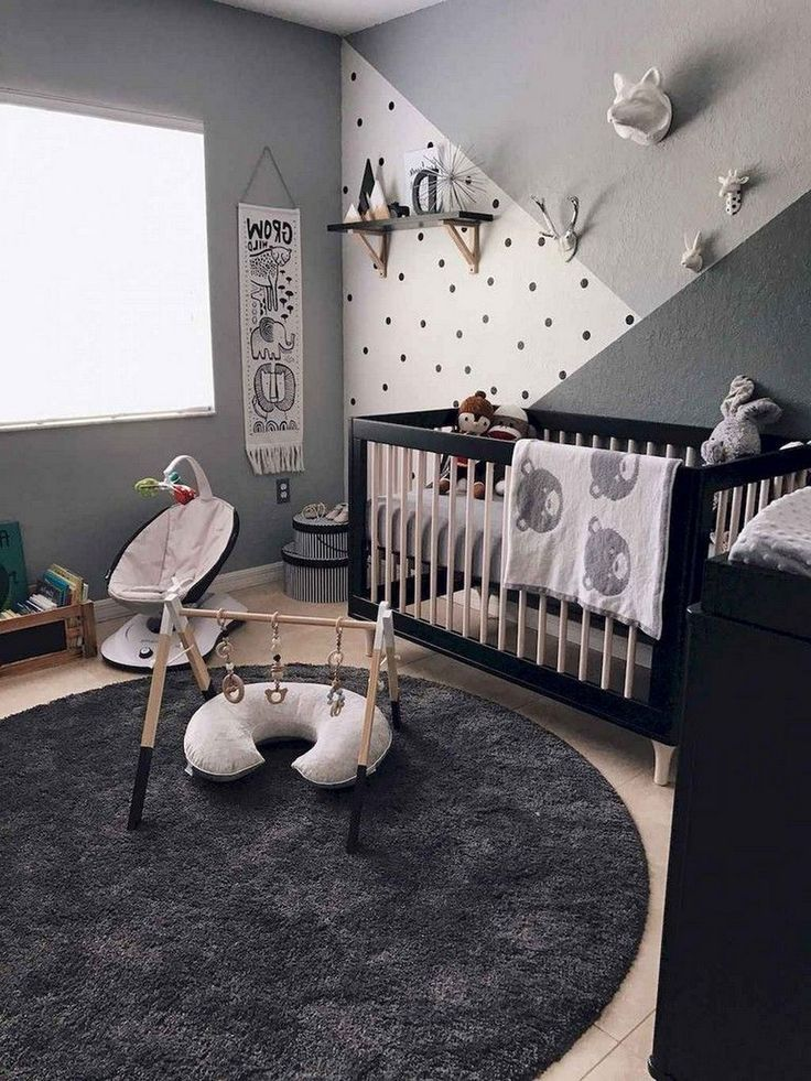 Cute Baby Nursery Ideas On A Budget Nursery Baby Room Baby Room Decor Baby Bedroom