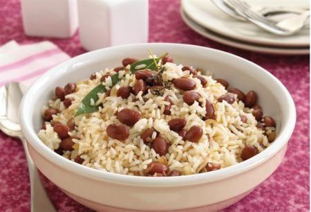 Jamaicanskt ris med bönor (från masterkocken.se)