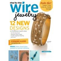 Check my tutorial on Step by Step Wire Jewelry mag Wire projects, jewelry tool info & more | InterweaveStore.com