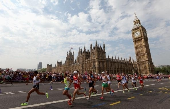Marathon running could result in fluid build-up in lungs