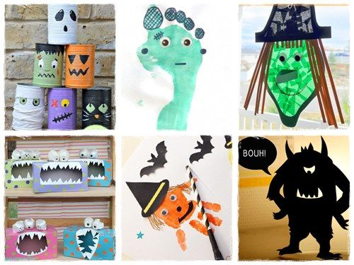 42 bricolages d'Halloween de dernière minute |La cour des petits