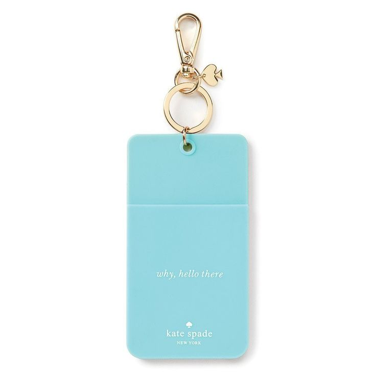 Kate Spade New York ID Holder Turquoise