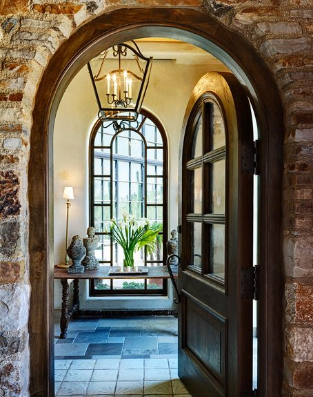 90 best images about entryways and foyers on pinterest for Colonial windows and doors