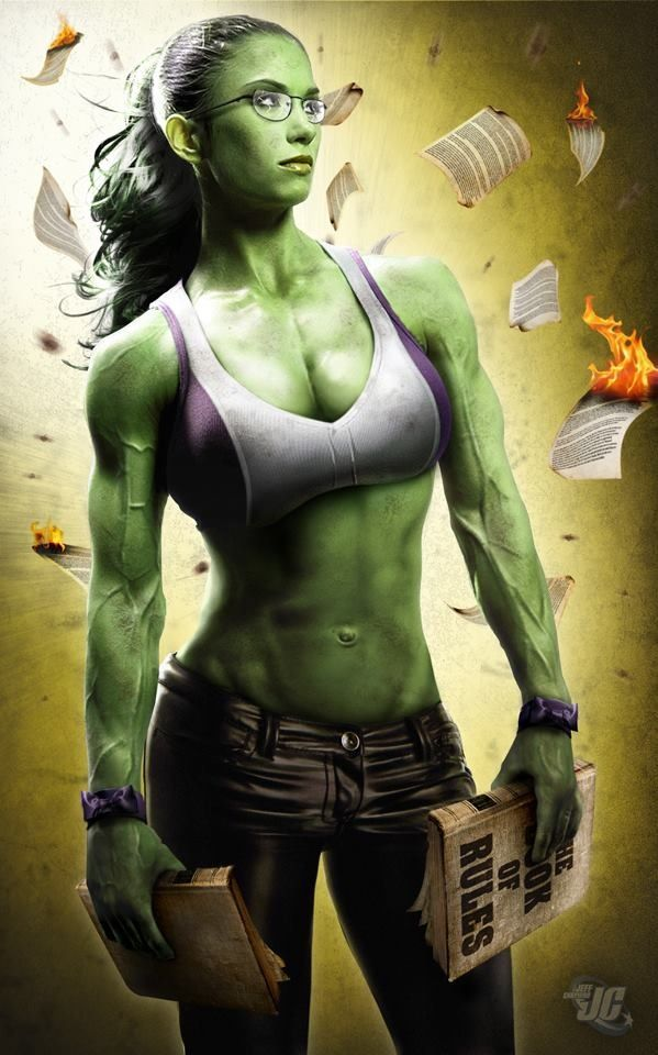 THIS is the She-Hulk I see in the next #Avengers!