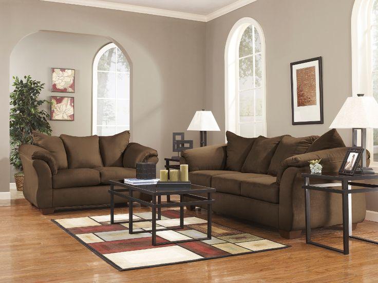 Darcy Cafe Sofa U0026 Loveseat #sofa #loveseat #livingroom #rana #ranafurniture  #