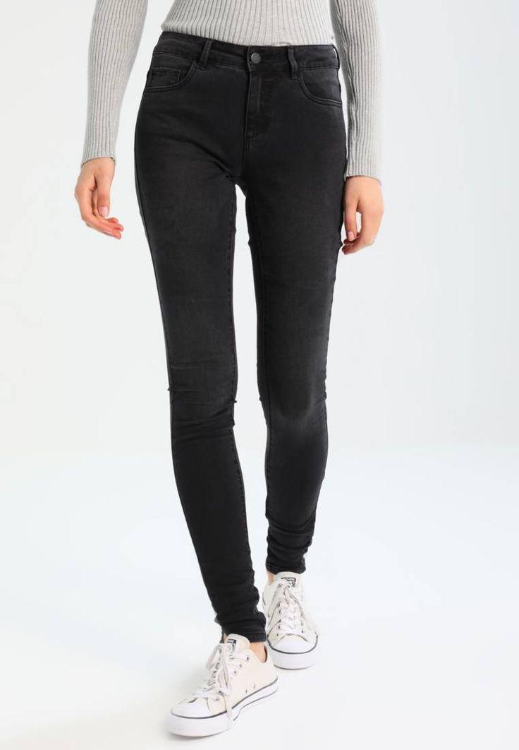 ONLY. ONLDENIM POWER  - Jeans Skinny Fit - black. Avvertenze:Lavaggio a macchina a 40 gradi,Non asciugare in asciugatrice,Restringimento massimo del 5%. Lunghezza interna della gamba:83 cm nella taglia 27x34. Composizione:72% cotone, 23% Poliester...