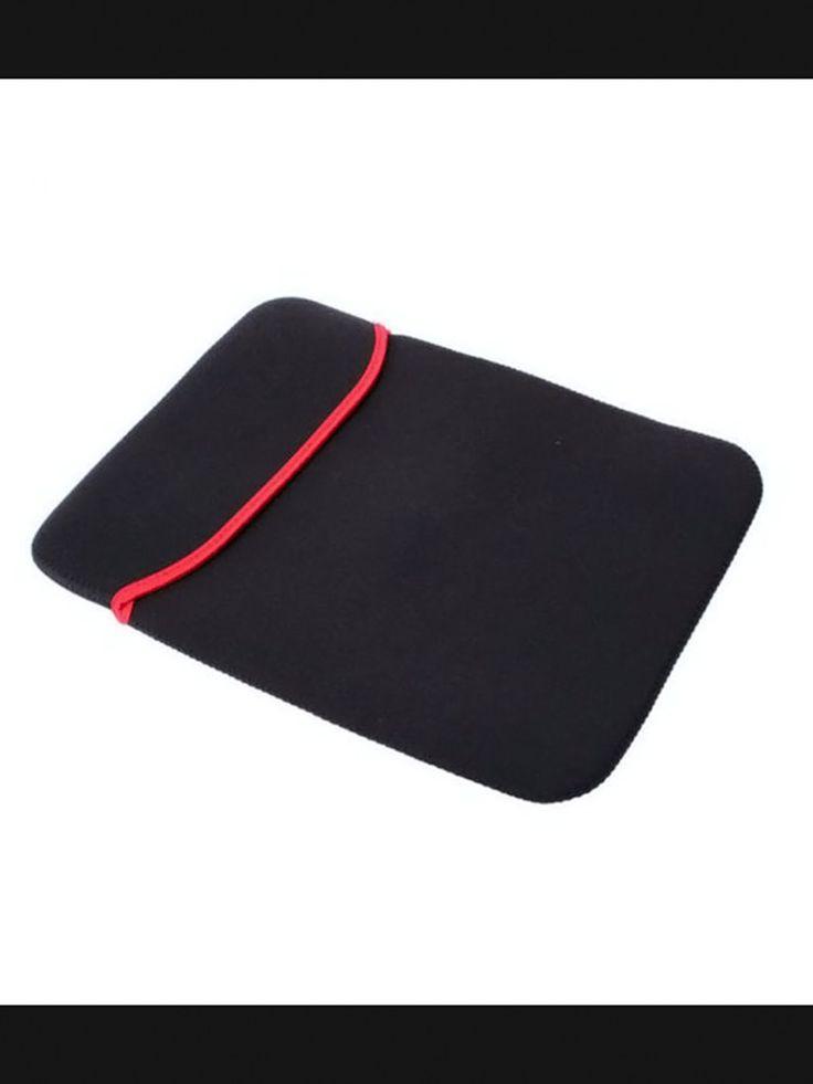 15″ Laptop Pouch Bag Soft Case Sleeve – Black
