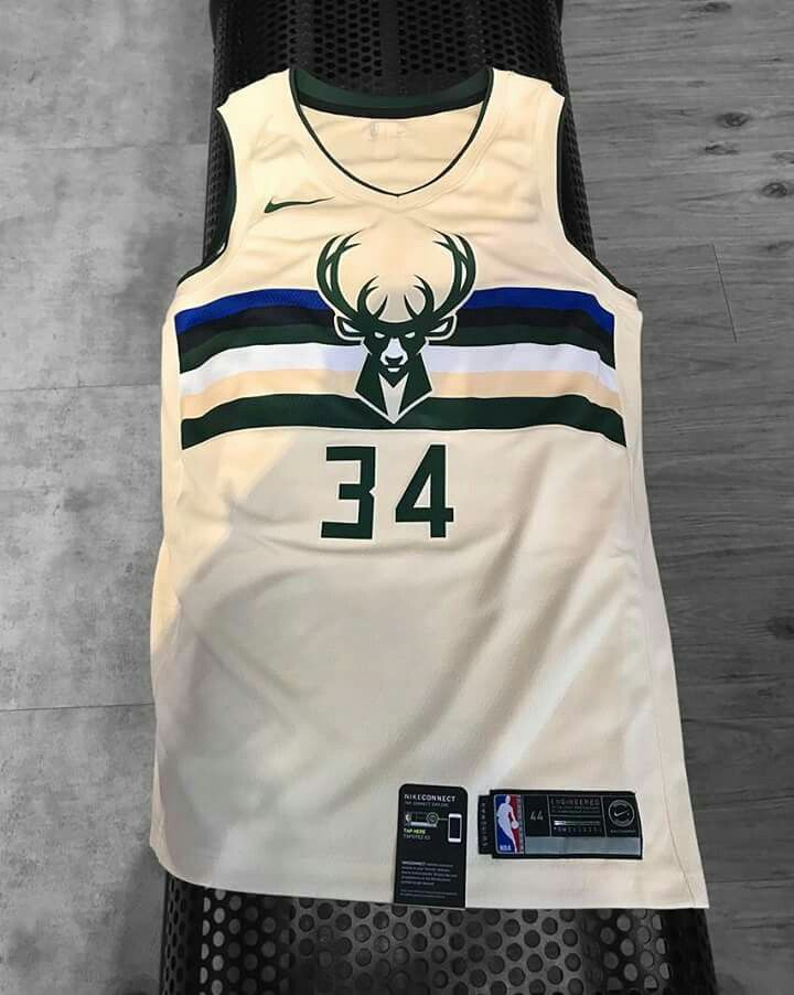 d42f086faf3 The Milwaukee Bucks have released their new, cream, alternate jersey ...