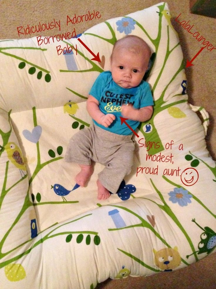 baby lounger pillow | since our wee one is still in baking in utero