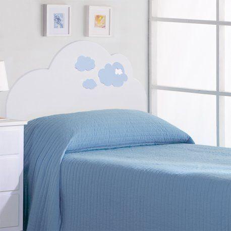cabecero infantil nubes un cabecero para nios diferente y original para camas de o
