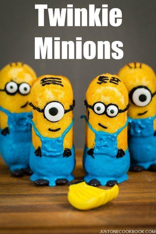 Twinkie Minions | JustOneCookbook.com