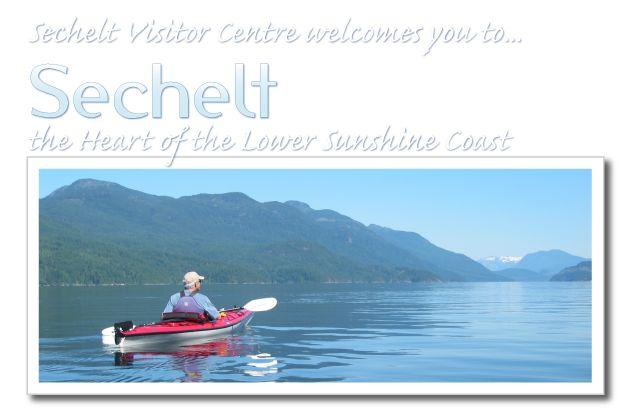 Sechelt Visitor Centre: Tourism, Sechelt