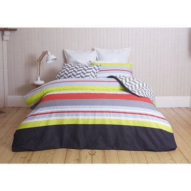 change the tone and style to your bedroom with a new quilt cover from the spotlight range