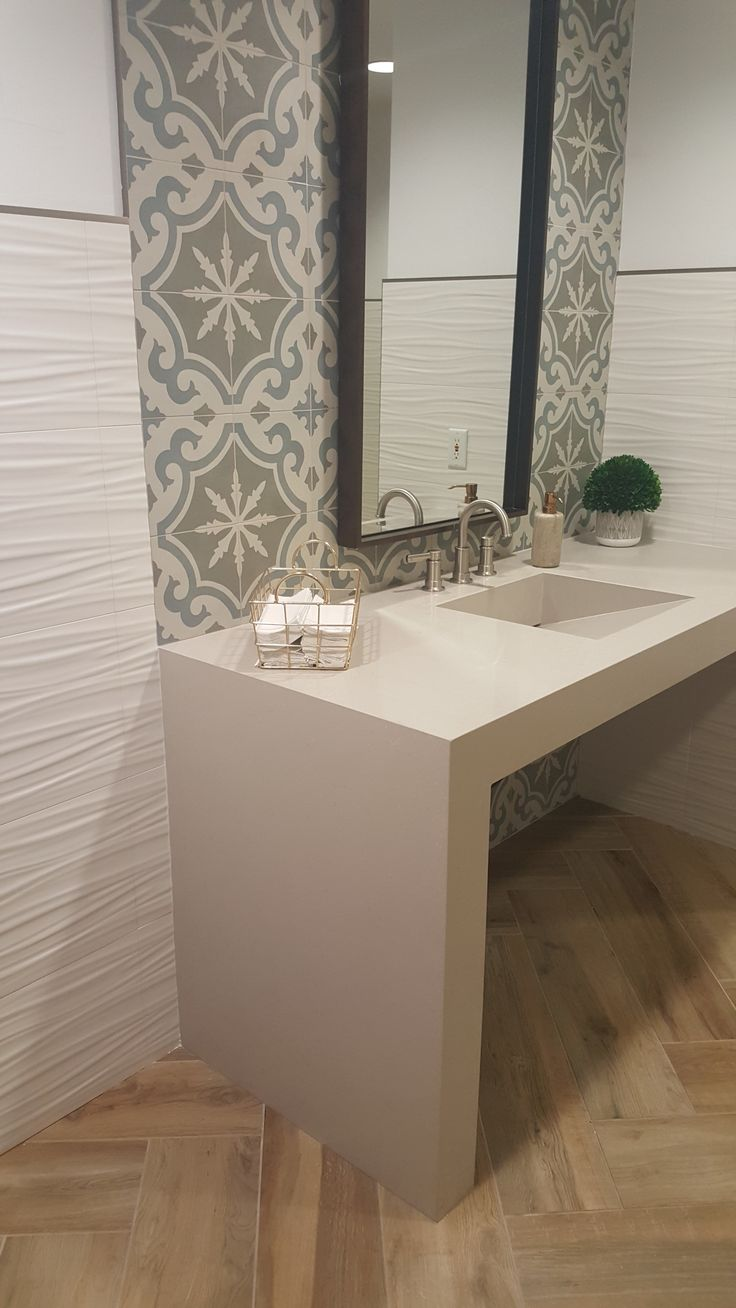 163 best tile transformations images on pinterest kitchen a fantastic bathroom update in salt lake city with great use of our 3d aequa dailygadgetfo Gallery