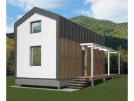 Energooszczędny dom letniskowy całoroczny z drewna