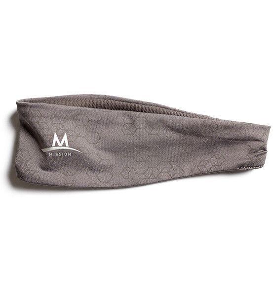 Reflective Cooling Headband | Charcoal