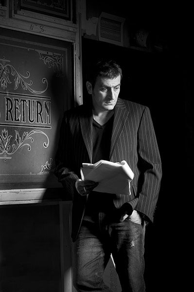 Chris Gascoyne, such a handsome man