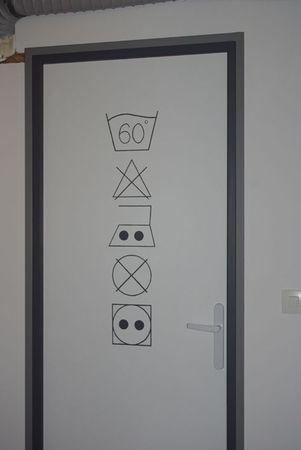 idées : paniers avec symboles (laine...)