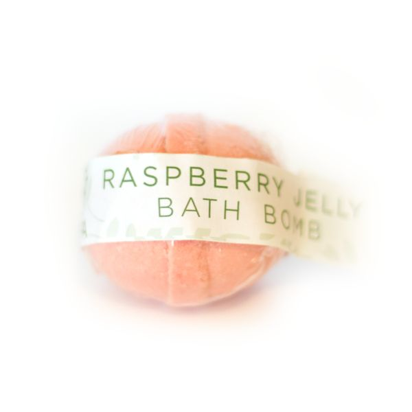 Raspberry Jelly Bomb   Poepa Soap