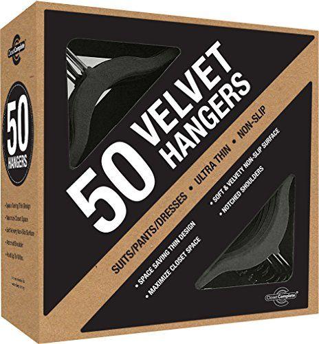 Closet Complete Ultra Thin No Slip Velvet Suit Hangers, Black, Set of 50 Closet Complete http://www.amazon.com/dp/B0037KMSRI/ref=cm_sw_r_pi_dp_UNfDwb18GQBWR