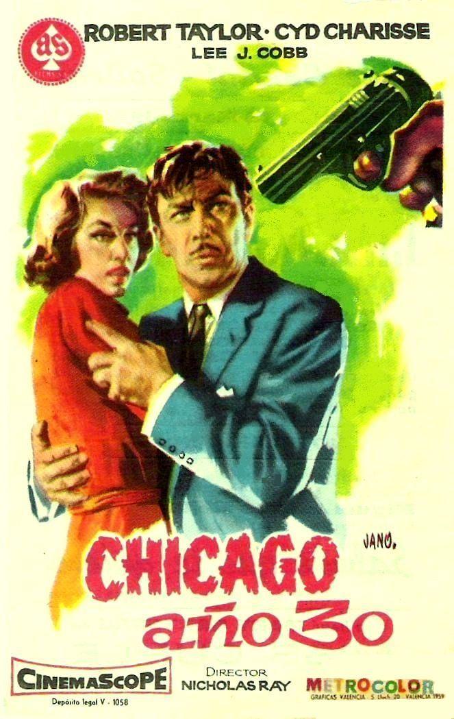 """Chicago, año 30 (1958) """"Party Girl"""" de Nicholas Ray - tt0052050"""