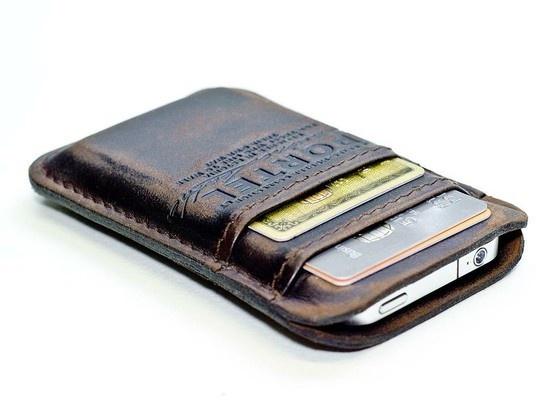 iphone wallet - Genius for guys -- good gift idea