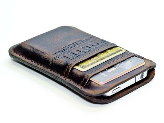 iphone wallet - Genius for guys -- good gift idea