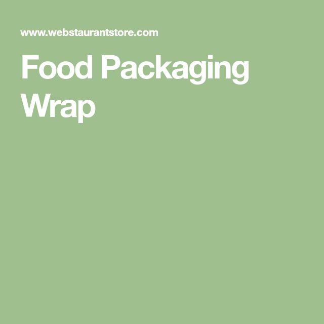 Food Packaging Wrap