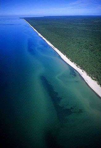 Rocks National Lakeshore, 12 mile Beach, Michigan Upper Peninsula, U.S.
