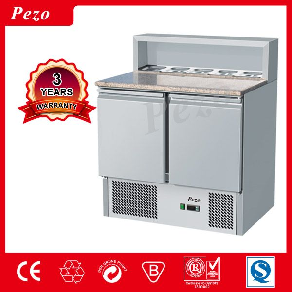 High Quality Stainless Steel Salad Bar/Commercial Salad Cooler/Salad Display Chiller