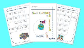 Un cahier de réussite pour l'anglais, cycle 3
