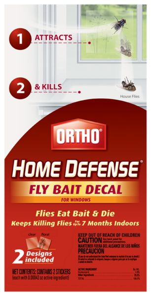 Attracts and kills flies so you don't have to! Flies eat bait and start to die within 1 minute.