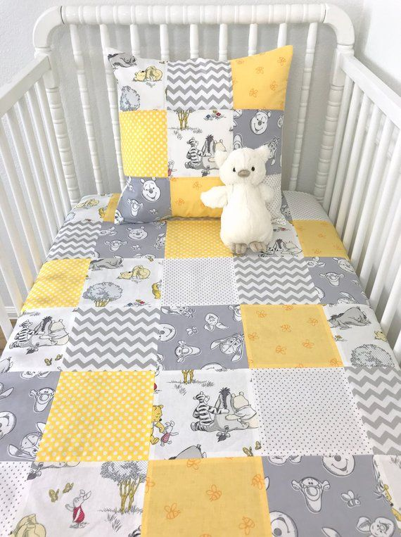 Elephant and Chick Animals Security Blanket with Plain Yellow Textured Underside White Baby Comforter Blanket Giraffe