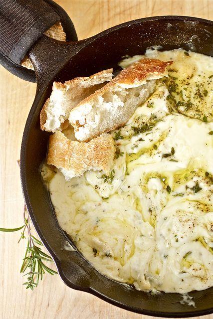 ... , Food, Fontina Cheese, Fontina Dip, Appetizer, Homes, Baked Fontina