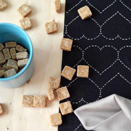 NOSH Organics Fabrics - Quilted Jersey, Black