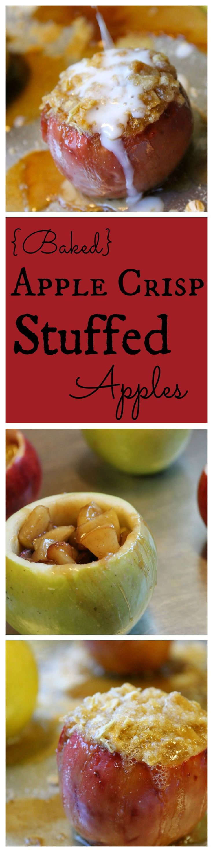 Baked apple crisps, Apple crisp and Baked apples on Pinterest