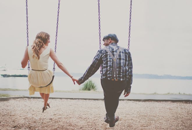 Quite possibly one of the cutest engagement shoots ever?