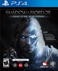 Boxshot: Middle-earth: Shadow of Mordor Game of the Year Edition by Warner Home Video Games