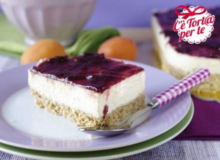 #Cheesecake melone e #ciliegie: un gustoso abbinamento fresco e tipicamente estivo.   Scopri la #ricetta...