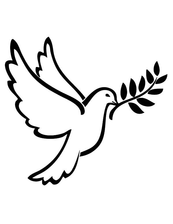 Peace Dove Coloring Pages Peace Dove Coloring Pages Bird Coloring Pages