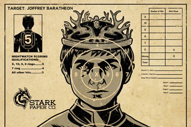 O alvo perfeito para treinar lançamento de dardo – Joffrey de Game of Thrones http://www.bluebus.com.br/o-alvo-perfeito-para-treinar-lancamento-de-dardo-joffrey-de-game-of-thrones/
