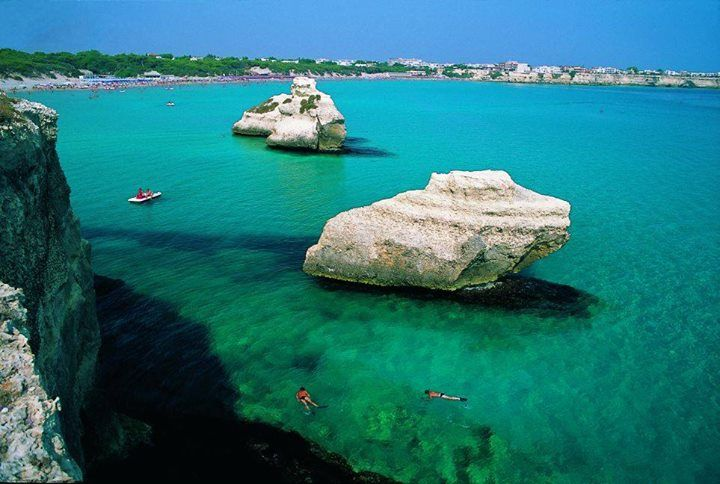 Are you waiting for summer?! Start dreaming... In Apulia you can find amazing, white beaches and incredible blu-crystal water! San Foca, #Lecce #Puglia, #Italy  Follow YITA.. Discover APULIA www.yitaproject.com