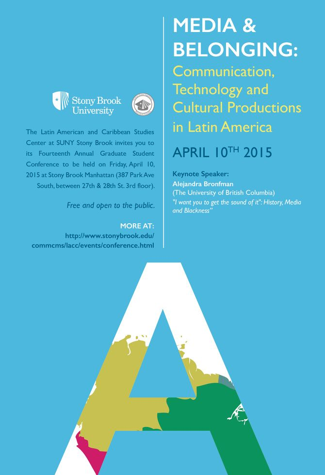 Stony Brook University - Poster - Fiona Cashell Design