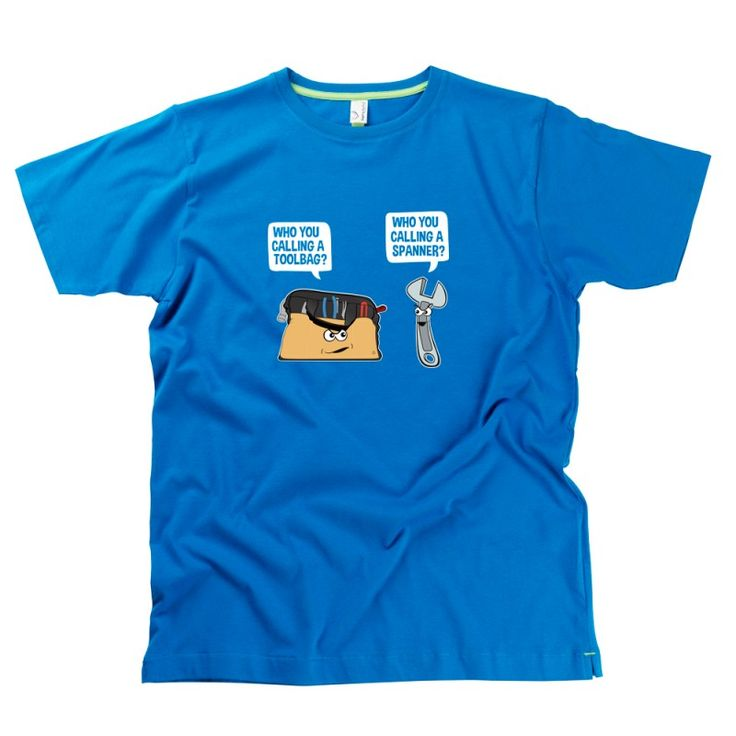 Toolbar V's Spanner t-shirts from HairyBaby.com