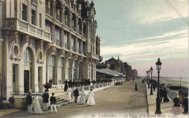 Grand Hôtel de Cabourg - sea front - June 2012