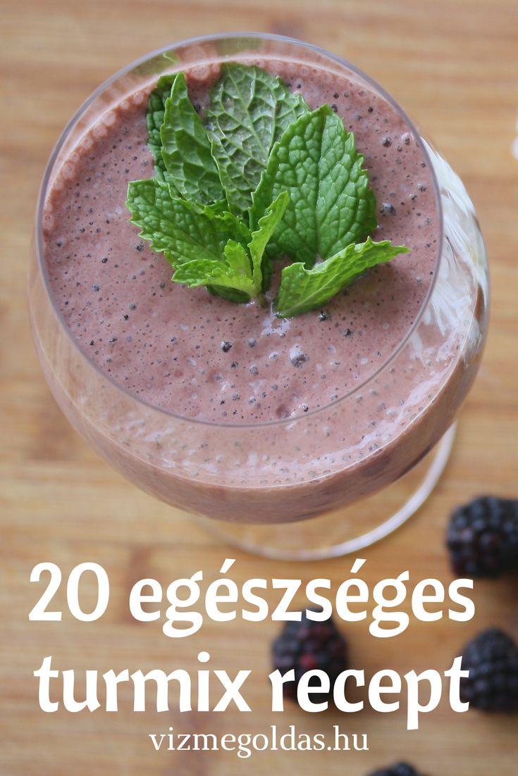 Egészséges receptek - Smoothie receptek – 20 egészséges turmix